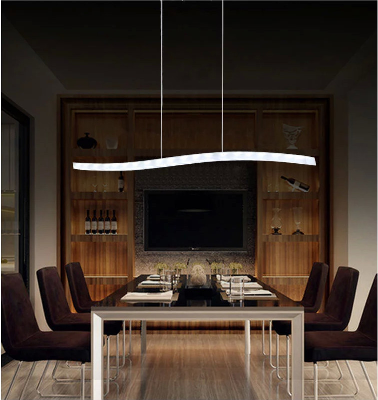 Red Rectangular Chandelier: 2015 New Fashion LED Dining Room Chandelier For Home