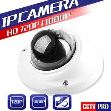 HD 720 P 1080 P антивандальные 2.0MP 1.0MP Купольная Ip-камера 3.6 мм Объектив ИК 10 М Ночного Видения ВИДЕОНАБЛЮДЕНИЯ Сетевая Камера P2P Облако Onvif