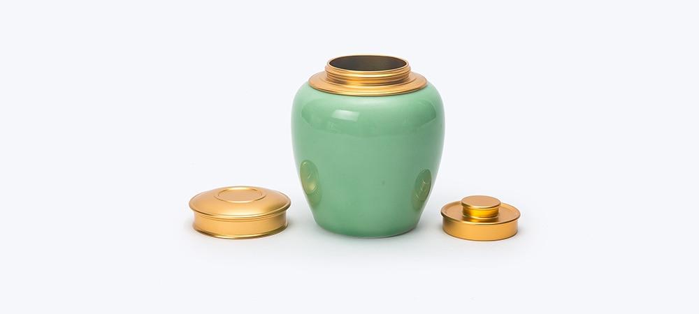 longquan plum green tea tin 7