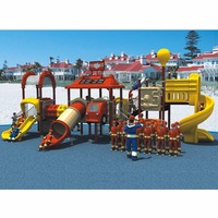 Hot Sell High Quality Water Proof Antirust Fire Series Big Play Structure Amusement Park Outdoor Playground