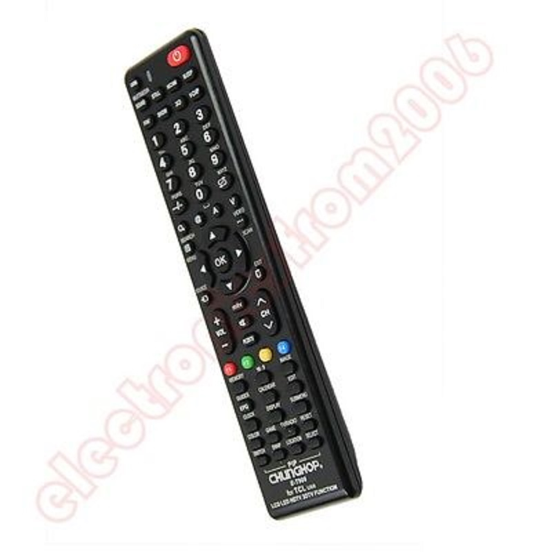 Ootdty Universal Remote Control For Tcl E-p908 Lcd Led Hdtv Television New Activating Blood Circulation And Strengthening Sinews And Bones Remote Controls Home Electronic Accessories