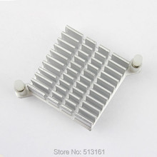 10 Pieces / Lot Northbridge Heat sink Mini Cooling Aluminum 40x40x13mm Cooler Heatsink