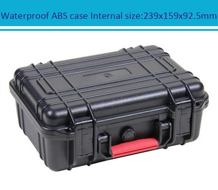 Случае Инструмент Toolbox чемодан ударопрочный герметичный водонепроницаемый безопасности ABS случае 239x159x92 мм запасная часть комплект чехол д...