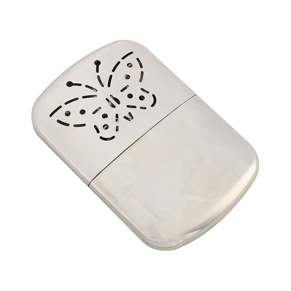 Winter Indoor Outdoor Durable Heater Pocket Warmer Hand Use Portable Zinc Alloy