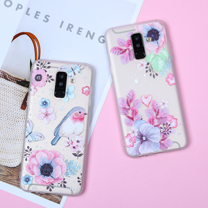 Image 2 - EIRMEON 3D Relief Case For Samsung Galaxy A6 Plus 2018 S8 S7 Edge S9 Plus A5 2017 J2 J3 J5 J7 A3 A5 A7 2016 J6 2018 Floral Cases