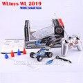 Wltoys WL 2019 1:32 6 CH RC carro de alta velocidade da bicicleta elétrica de controle remoto ( 20 - 30 km / hour ) 5-Speed Turbo controle pronto para ir