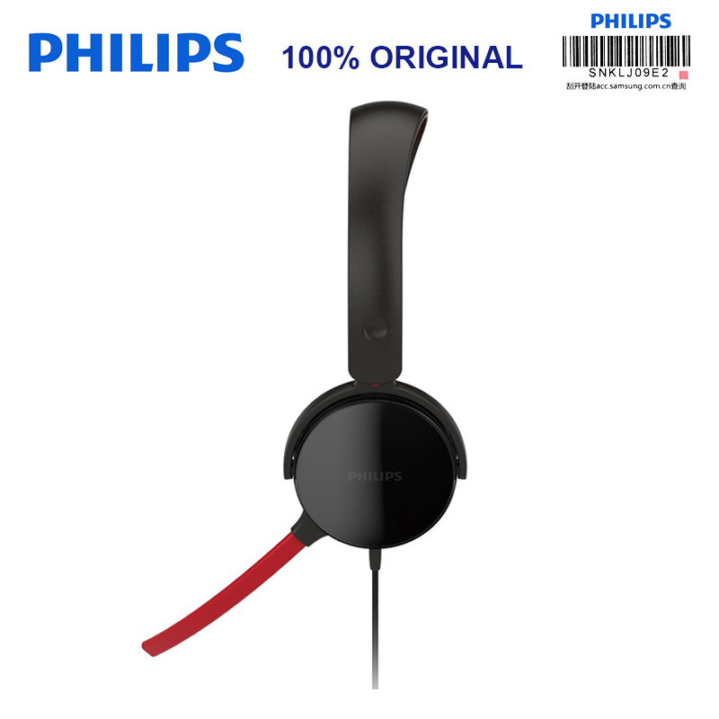 Philips SHG7210 Professional Game Headphones with Microphone Wire Control Headphone for Xiaomi MP3 Official Verification fast free ship for gameduino for arduino game vga game development board fpga with serial port verilog code