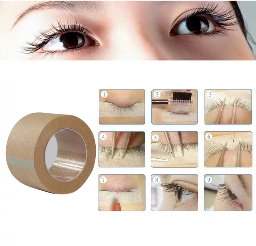 Invisible Double Eyelid Tape 9m Natural Eyeliner Double