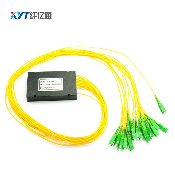 Оптичка опрема АБС касета 1к16 са ФЦ ЛЦ СЦ прикључком за ФТТХ ГПОН ЕПОН ОЛТ систем ПЛЦ Сплиттер
