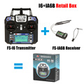 Most Popular Flysky FS-i6 with FS-iA6B Receiver 2.4G 6ch Transitter Controller For RC Helicopter Airplane Quadcopter Glider