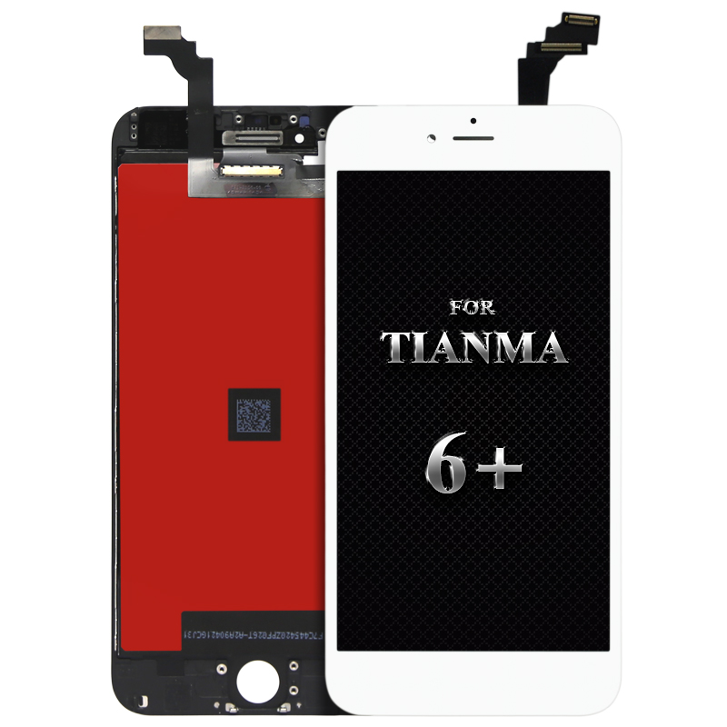 Hot sale for tianma quality 5pcs For iPhone 6 Plus lcd display Digitizer LCD Assembly Replacement