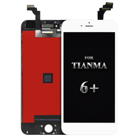Hot sale for tianma quality 5pcs For iPhone 6 Plus lcd display Touch Screen Digitizer & LCD Assembly Replacement & Free ship