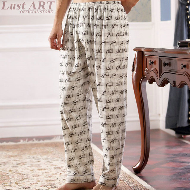 3063f9119d Sleep Bottoms men male sleepwear 2016 new arrival pajama bottoms cotton mens  sleep pants for men