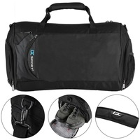 IX 8036# Polyester Pink Sports Bag Waterproof One Shoulder Training Package Large Capacity Gym Bag Universal Yoga Pack