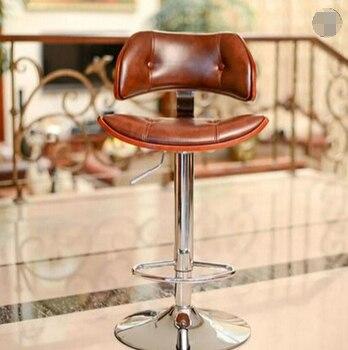 Wood bar stool rotating European retro fashion minimalist bar stool bar stool chair цена 2017