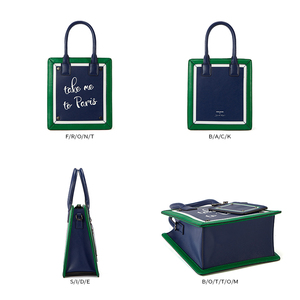 Image 5 - EMINI HOUSE Paris Series Tote Bag Split Leather Crossbody Bags For Women Shoulder Bags Luxury Handbags Women Bags Designer