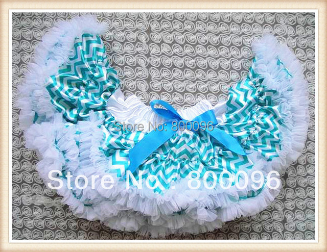 Hot Sale pettiskirt tutu Wholesale Tutu Skirts Girls Blue Bow Saia tutu for Baby Girls Clothes PETS-133