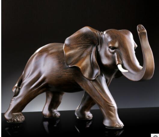 137fda6ef37 Оптовая продажа lucre слон объект Смола дерево мать и ребенок Слоны  помещены части благоприятный