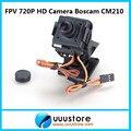 2016 Новый Настоящее Rc Boscam Cm210 720 P Hd Мини-Камера Fpv Камеры Ж/нейлон Телеметрией Ptz И Сервопривод для f450 quadcopter
