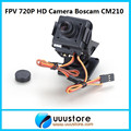 2016 New Real Rc Boscam Cm210 720p Hd Mini Camera Fpv Camera W/nylon Pan Tilt Ptz And Servo for f450 quadcopter
