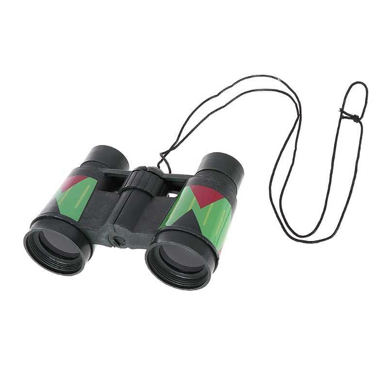 Kids Telescoop Kinderen 10x30 Verrekijker Camouflage Outdoor Jacht Draagbare Touw