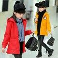 2016 новый милый детские пальто зимы детей детская мультфильм пальто куртки детская одежда