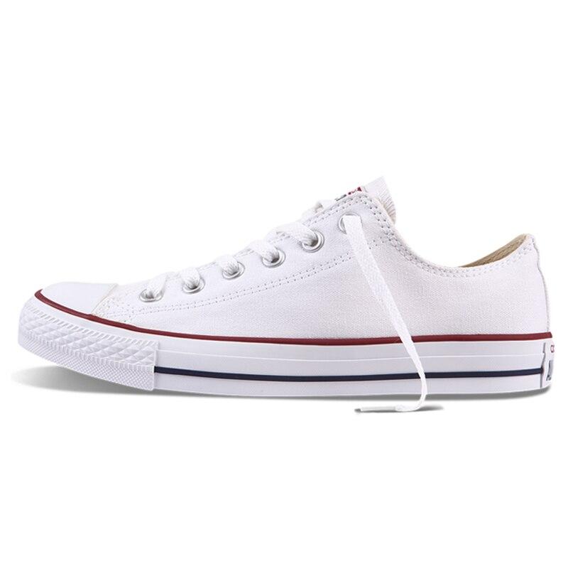 Converse All Star Unisexe chaussures pour skateboard Hommes Sports de Plein Air décontracté toile classique Femmes Anti-Glissante Sneakers Low Top Chaussures - 2