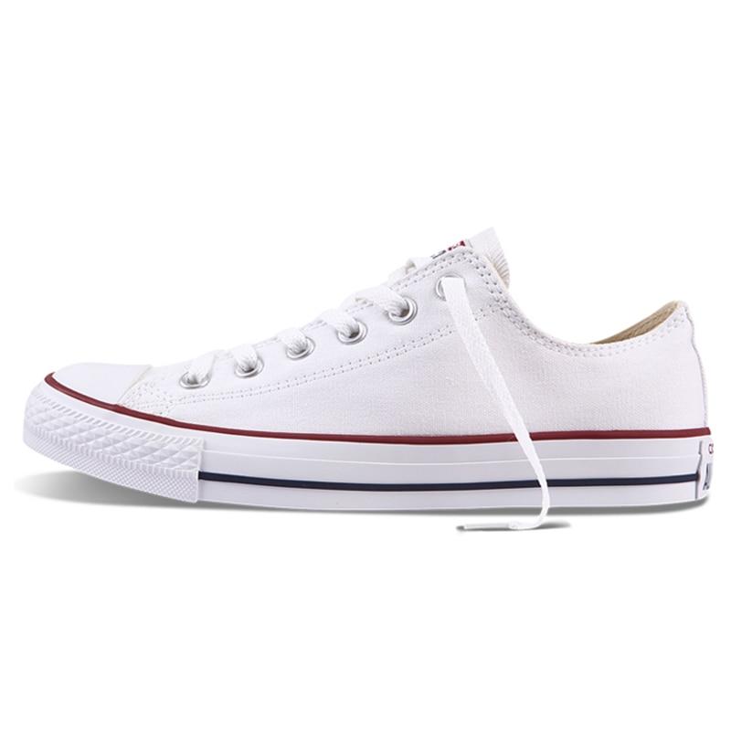 Converse All Star unisexe chaussures de skateboard hommes Sports de plein air décontracté classique toile femmes Anti-glissant baskets chaussures basses - 2