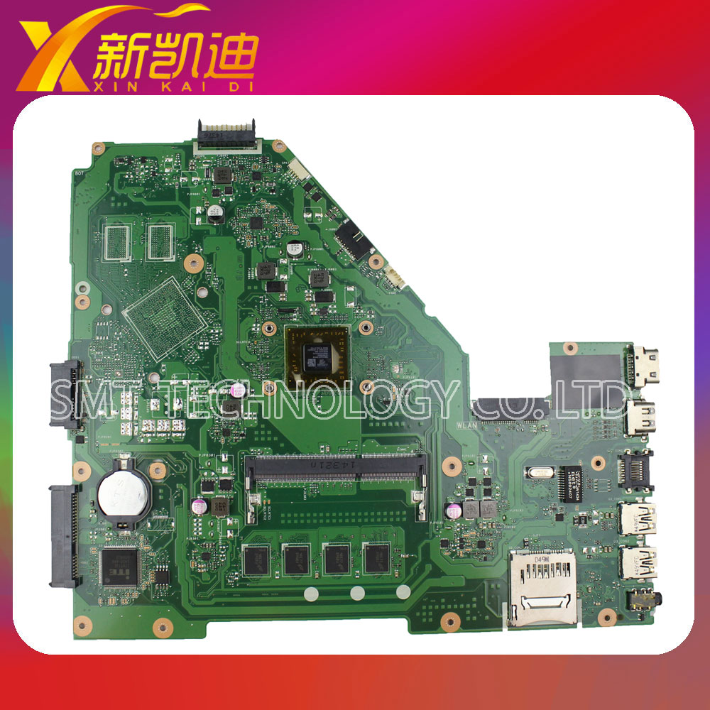 FOR ASUS X550EA Laptop Motherboard X550EP Mainboard with A4-5000 CPU 4GB Integrated high quality&free shipping  k56cb laptop motherboard for asus with i7 cpu non integrated k56cm mainboard 100