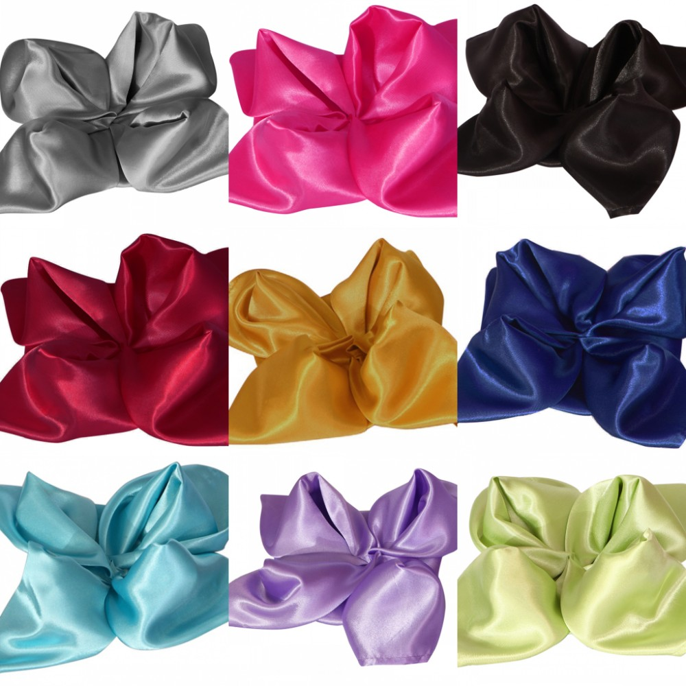 150pcs Pack 20 Square Satin Napkins 50cm Handkerchief For Weddings Party Catering Events Hotels And Restaurants