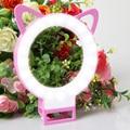 100% Charm eyes Selfie Ring Light RK13 Clip Cat Ear LED selfie flash light rechargeable lamp selife fill-light for Smartphone