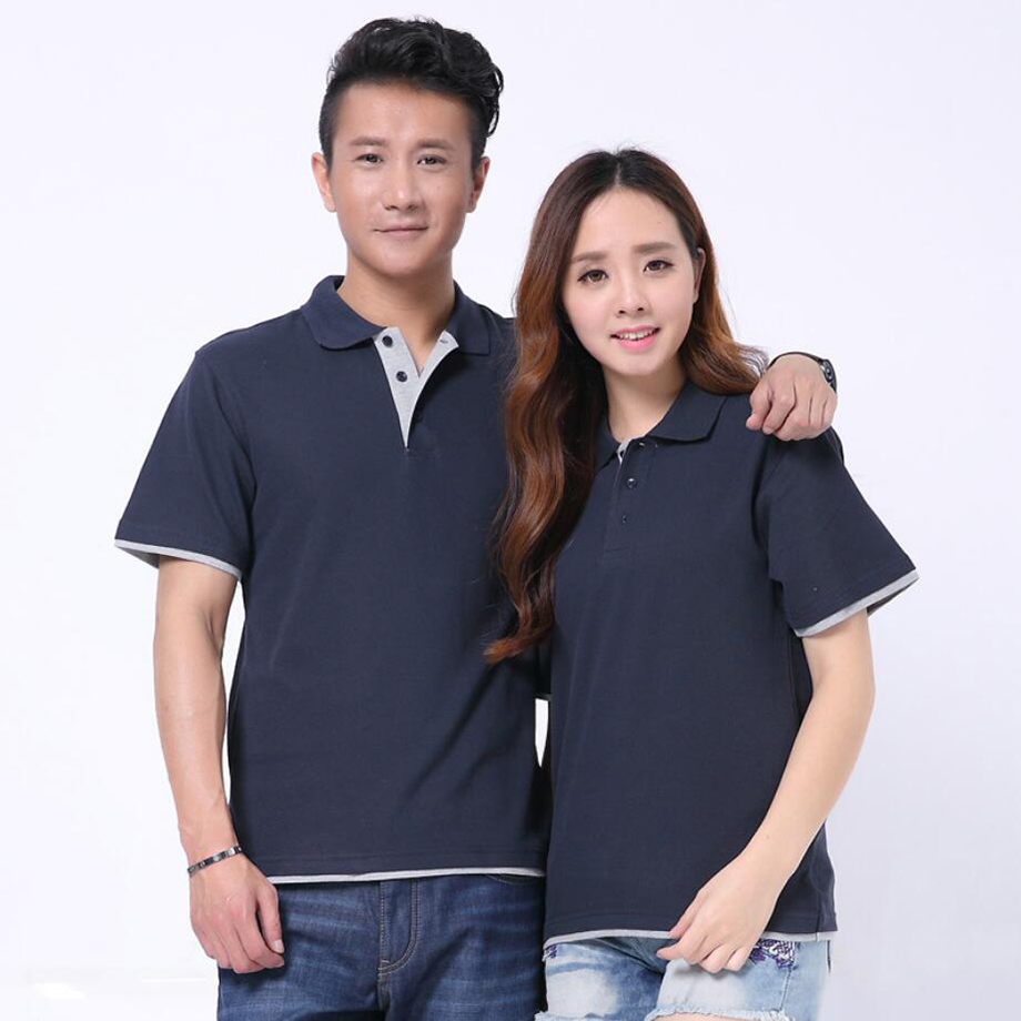 camisas polo soft mens shirt cotton top shirt masculina homme brand polo shirt men plain polo shirt 180g summer tees for lovers in Polo from Men 39 s Clothing