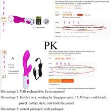 Spiel Lover USB Recharge G-spot dildo Vibrator Erotic Sex Toys for Women Body Massager 30 Speed Bullet Vibrators Sex Products