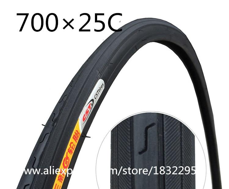 купить 1pc CST Bicycle tire tires 700C 700*20/23/ 25 / 28 / 32 / 35 / 38 / 40 C road bike tires bicicleta pneu steel wire ultralight недорого