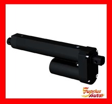 Waterproof 12 / 24V DC Electric Linear Actuator 600mm / 24in Travel 3500N / 770LBS Black Heavy Duty Linear Actuator