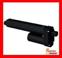 Waterproof 12 24V DC Electric Linear Actuator 600mm 24in Travel 3500N 770LBS Black Heavy Duty Linear