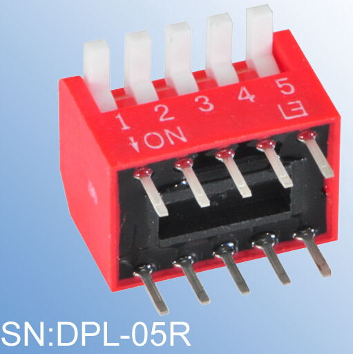 ELEWIND Excessed type of PIANO DIP SWITCH(DPL-05R)