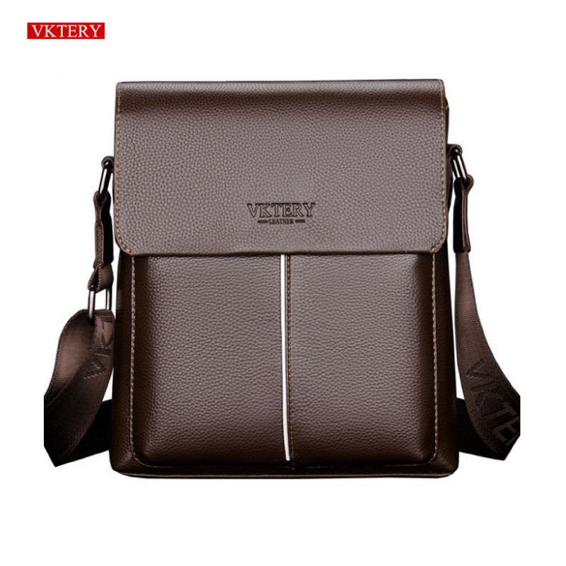 Men Business Leather Handbag Briefcase Crossbody Messenger Shoulder Bag Satchel