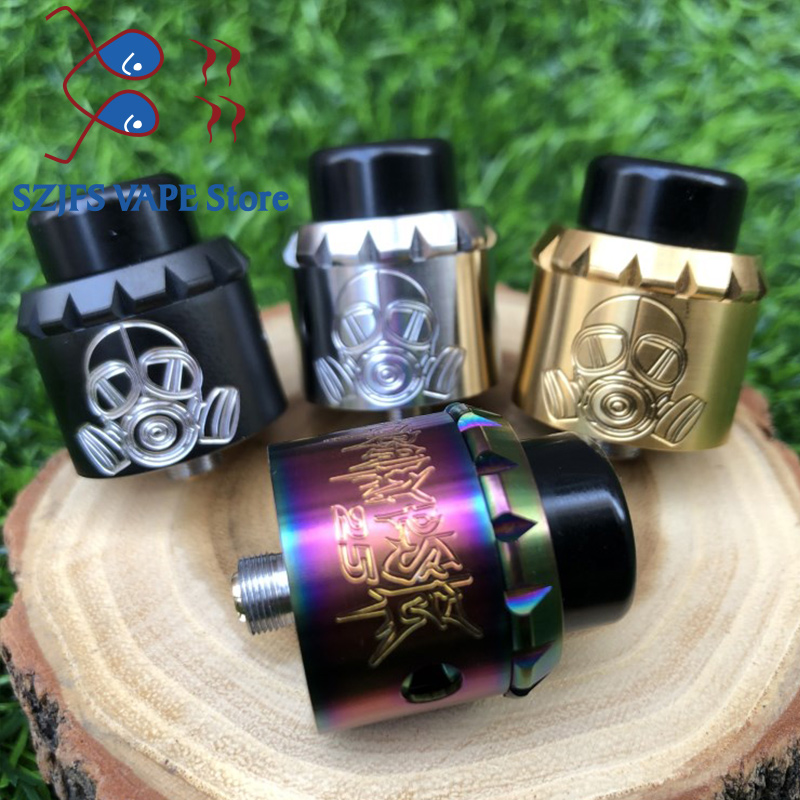 Apocalypse GEN 25 RDA Apocalypse GEN 2 RDA Adjustable Airflow Control 25mm Vaporizer Tank Fit 510 Mechanical Mods Vs Drag 2 Mtl
