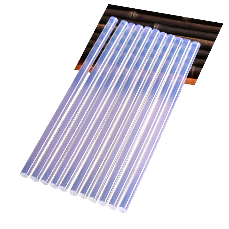 Клеевые палочки LOMVUM 10 шт. 7 мм/11 мм для электрического клеевого пистолета, прочные инструменты для ремонта альбомов, аксессуары из сплава, пи...