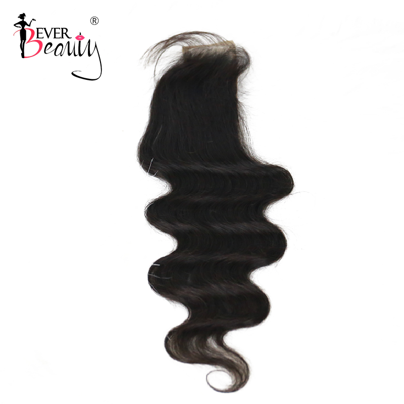 2x6 Brazilian Body Wave Lace Closure 1 Pcs Natural Color 10 22 Inch 100% Human Hair Extensions Free Shipping Ever Beauty Remy-in Closures from Hair Extensions & Wigs    1