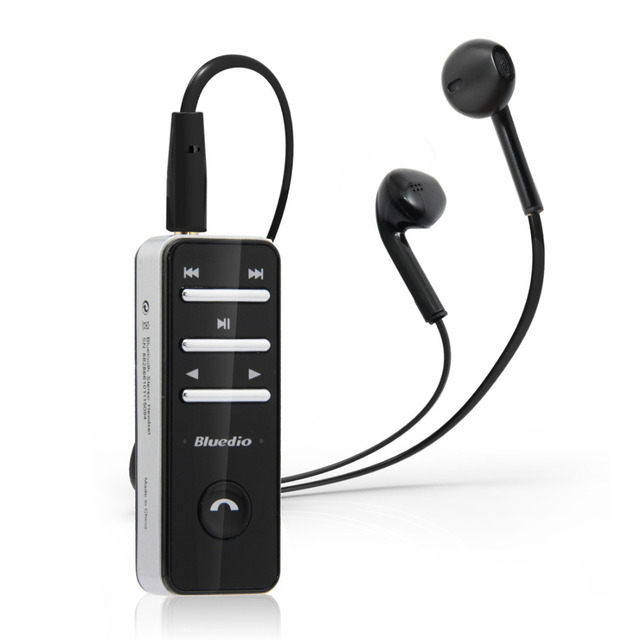 Bluedio I4 Клип Беспроводные Наушники Bluetooth-гарнитура Стерео Наушники с Громкой MIC Auricularus Для Умных Мобильных Телефонов ПК