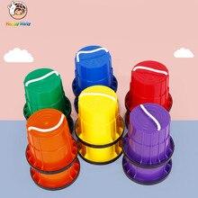 1 Pair  Children Outdoor Plastic Balance Training Big Jumping Stilts Shoes Walker Educational Fun Sport Toys Gift For Kids