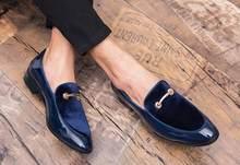 Männer Kleid Schuhe Patent Leder Luxus Mode Bräutigam Hochzeit Schuhe  Männer Luxus italienischen stil Oxford Schuhe c0d1dff64e