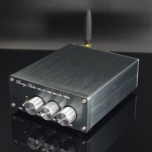 Image 2 - TPA3116 100 Вт * 2 Bluetooth цифровой усилитель, аудиомашина, автомобильный домашний кинотеатр с преусилителем, тоновый твитер, регулировка басов, DC24V