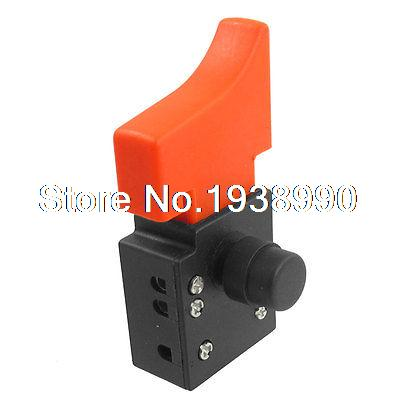 AC 250V 6A DPST NO Momentary Angle Grinder Trigger Switch for VivaKi 150