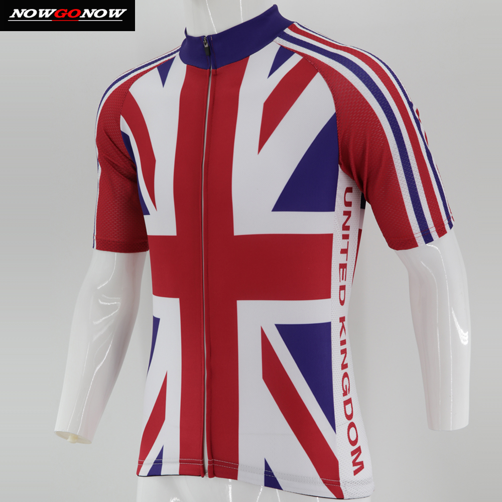 Man 2018 cycling jersey retro GB darkred clothing bike wear team uk tops  shirt Ropa Ciclismo Great Britain mtb road team racing-in Cycling Jerseys  from ... 6aaa395e5