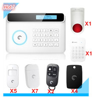 Free Shipping Eitger S4 Wireless GSM/PSTN RFID Alarm System Home Security Protection Alarm System support ten language