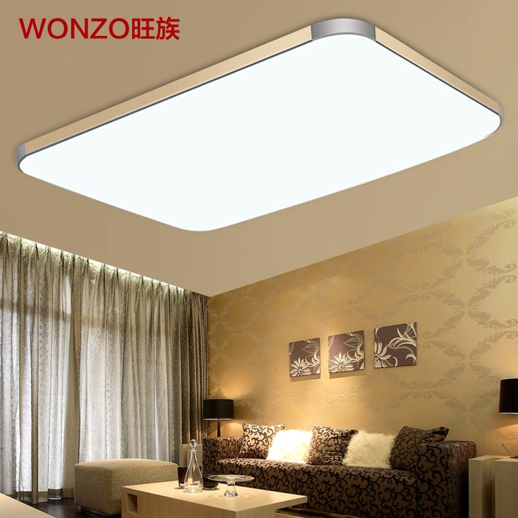 45X45CM 20w led ceiling lamp modern minimalist rectangular large living room balcony bedroom lighting fixtures - Home of the LED store
