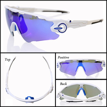 X-TIGER Brand Polarized Cycling Sunglasses Very Light Weight with Replacable Lenses